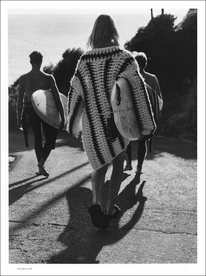 Sofie Hemmet by Gregory Harris for Vogue Paris