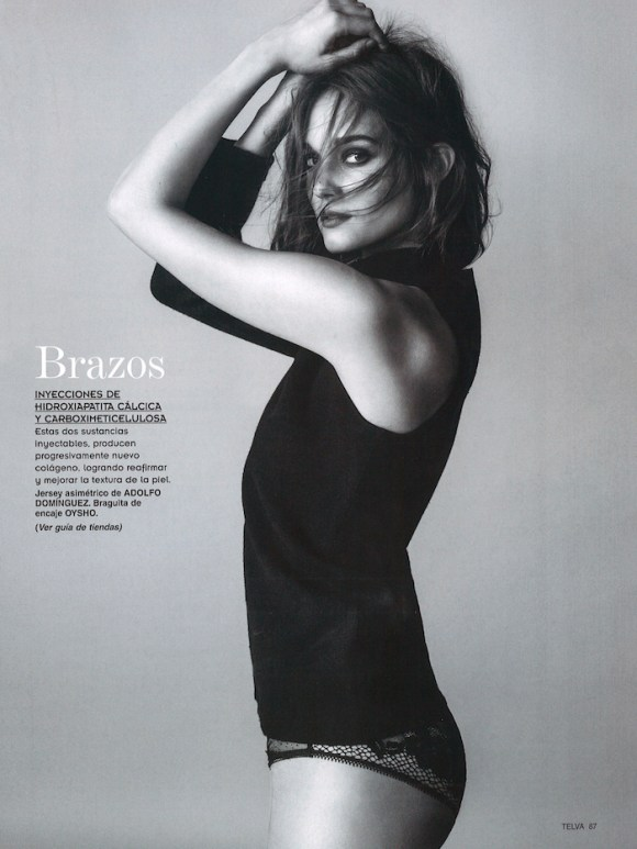 Johanna Szikszai by Antonio Terron for Telva Belleza