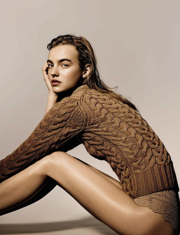 Maartje Verhoef by Richard Burbridge for Vogue Italia
