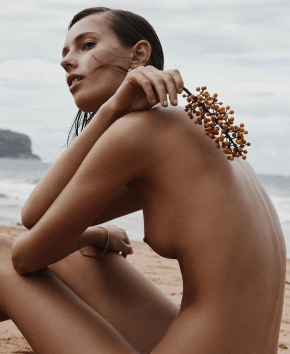 Mali Koopman photographed by Alexandra Nataf for Unconditional Magazine, Spring & Summer 2016