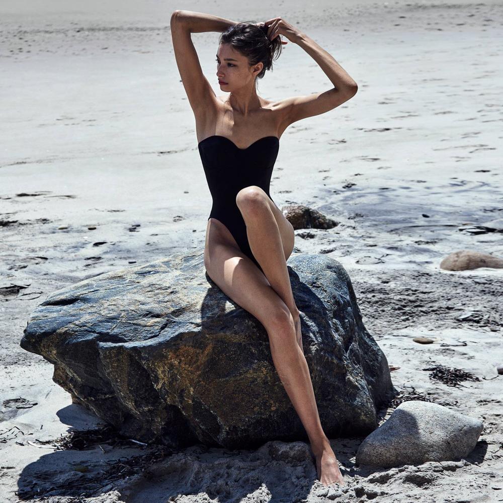 Alexandra Agoston photographed by Chris Colls for Porter Magazine, Winter 2016