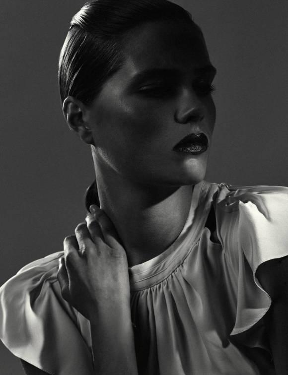 Caroline Brasch Nielsen by Hanna Tveite for The Line