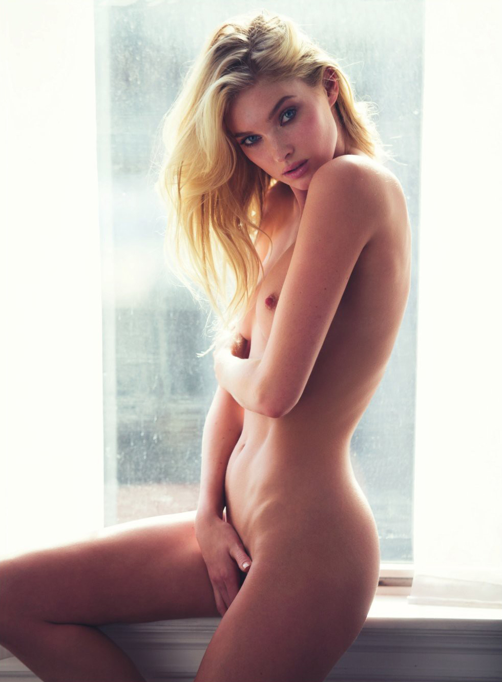 Elsa Hosk by David Bellemere for Lui Magazine