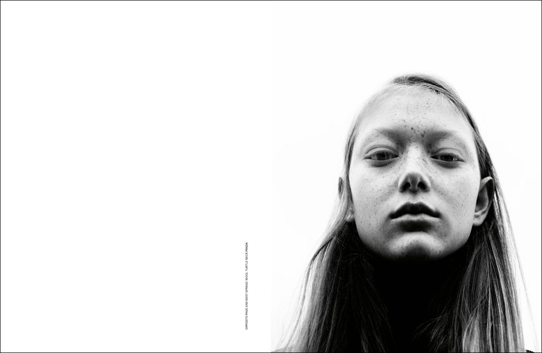 Sara Grace Wallerstedt by Willy Vanderperre for Dust Magazine