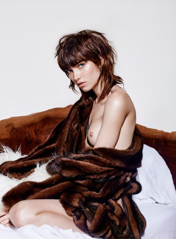 Grace Hartzel by Richard Burbridge for Vogue Italy