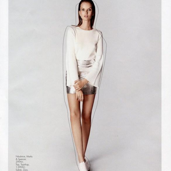 Michaela Dudkova by Hana K for OK! Magazine