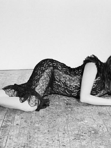 Sasha Pivovarova by Alique for Vogue Greece 1