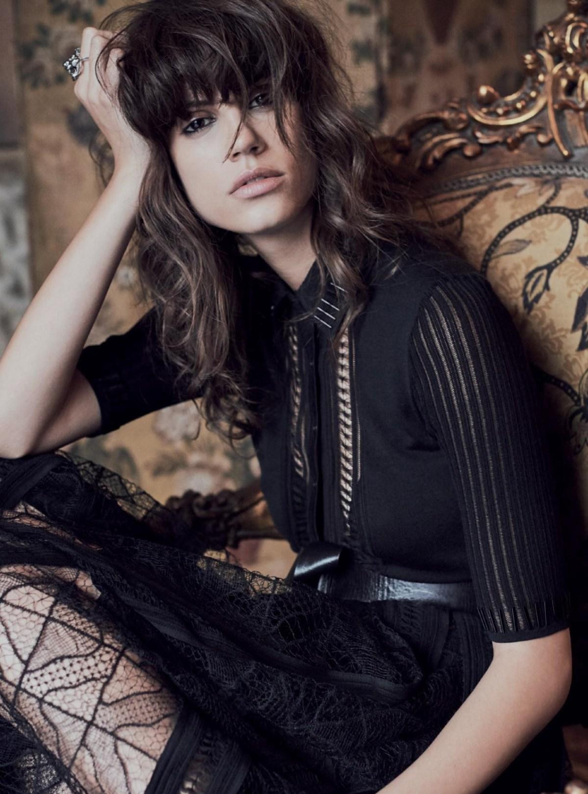 Antonina Petkovic by Regan Cameron for Harper's Bazaar UK