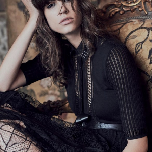 Antonina Petkovic by Regan Cameron for Harper's Bazaar UK