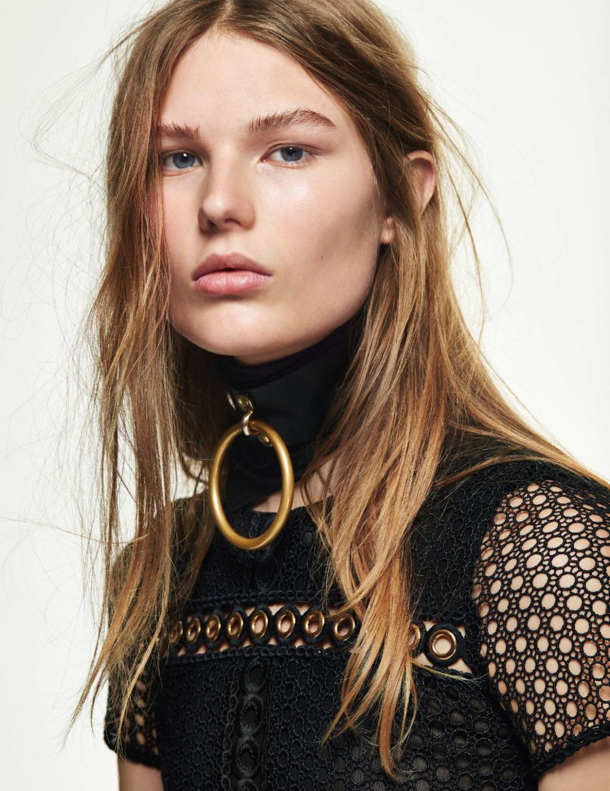 Adela Stenberg by Gregory Derkenne for Elle France