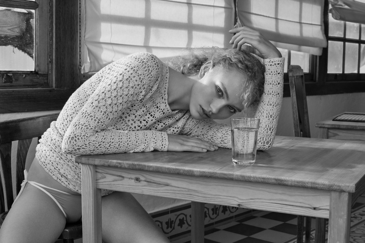 Kimberly van Der Laan by Olivia Frolich for Glamour UK