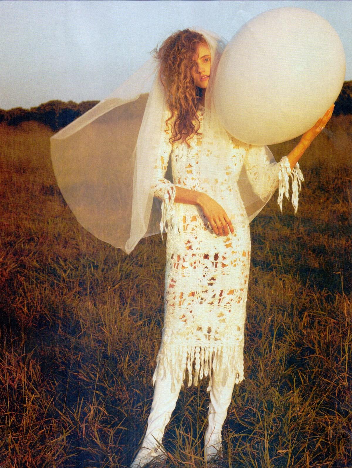 Sarah Berger by Rafael Pavarotti for Vogue Noiva Brasil