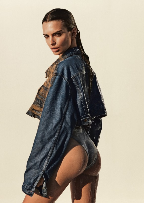 Emily Ratajkowski by Daniel Jackson for Allure Magazine