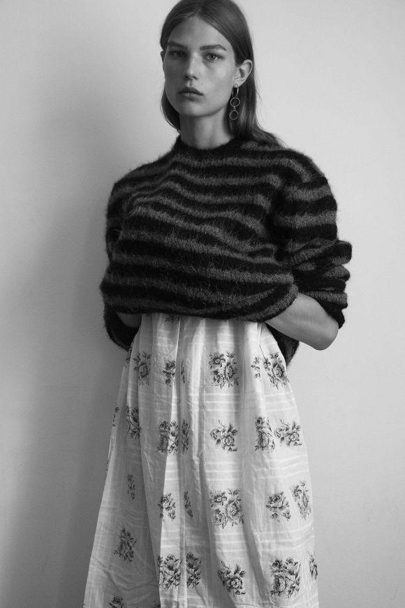 Adela Stenberg by Robin Galiegue for Harper's Bazaar UK