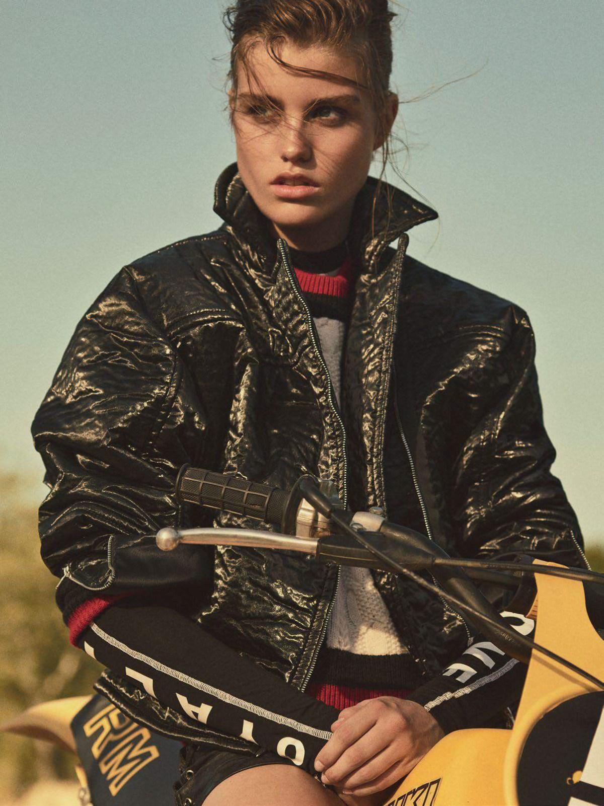Luna Bijl by Gregory Harris for Vogue Paris