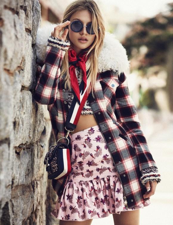 Caroline Corinth by Xavi Gordo for Elle Spain