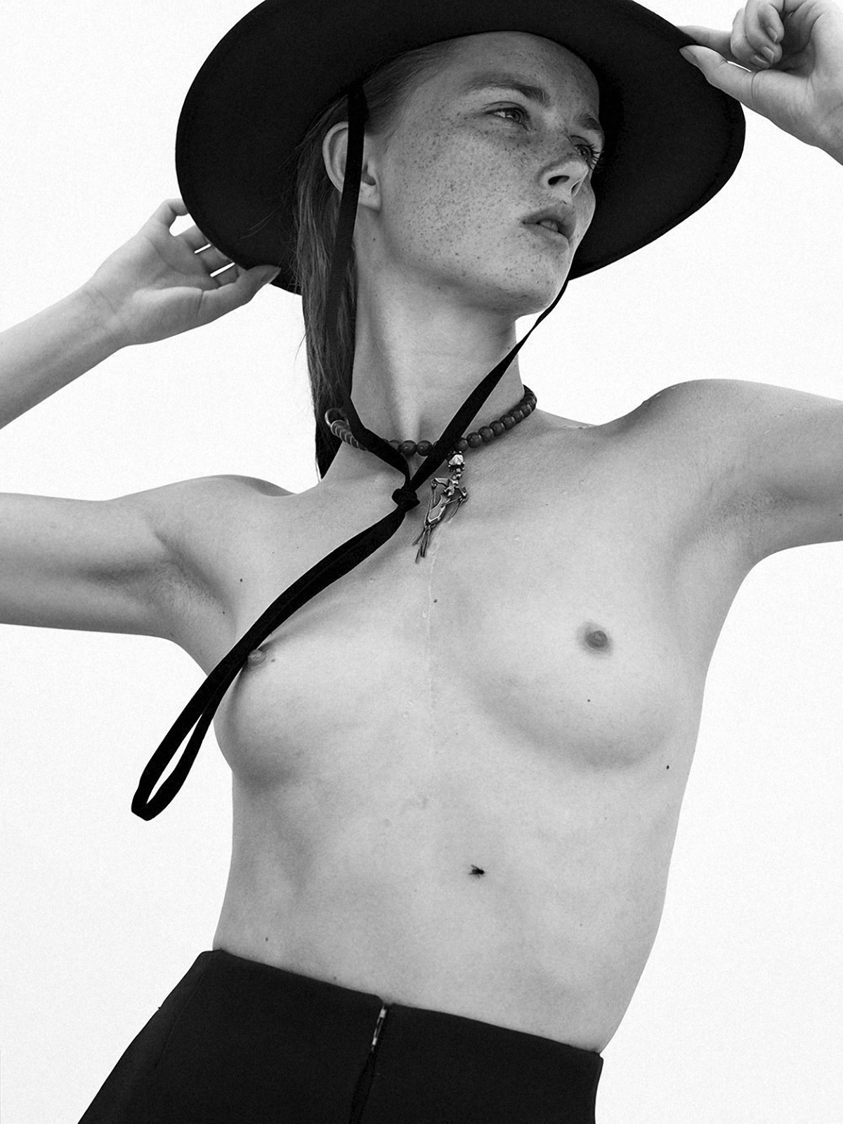 Rianne Van Rompaey by Mikael Jansson for Interview