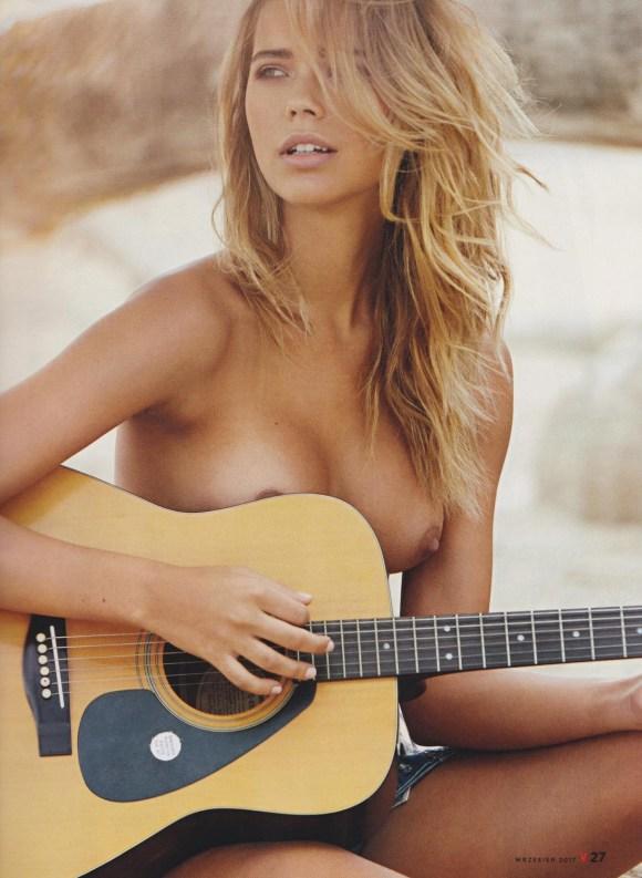 Sandra Kubicka by Robby Cyron for Playboy Poland