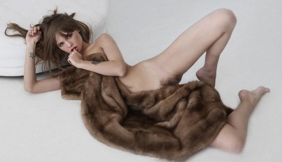 Anastasiya Scheglova by Gennady Lange