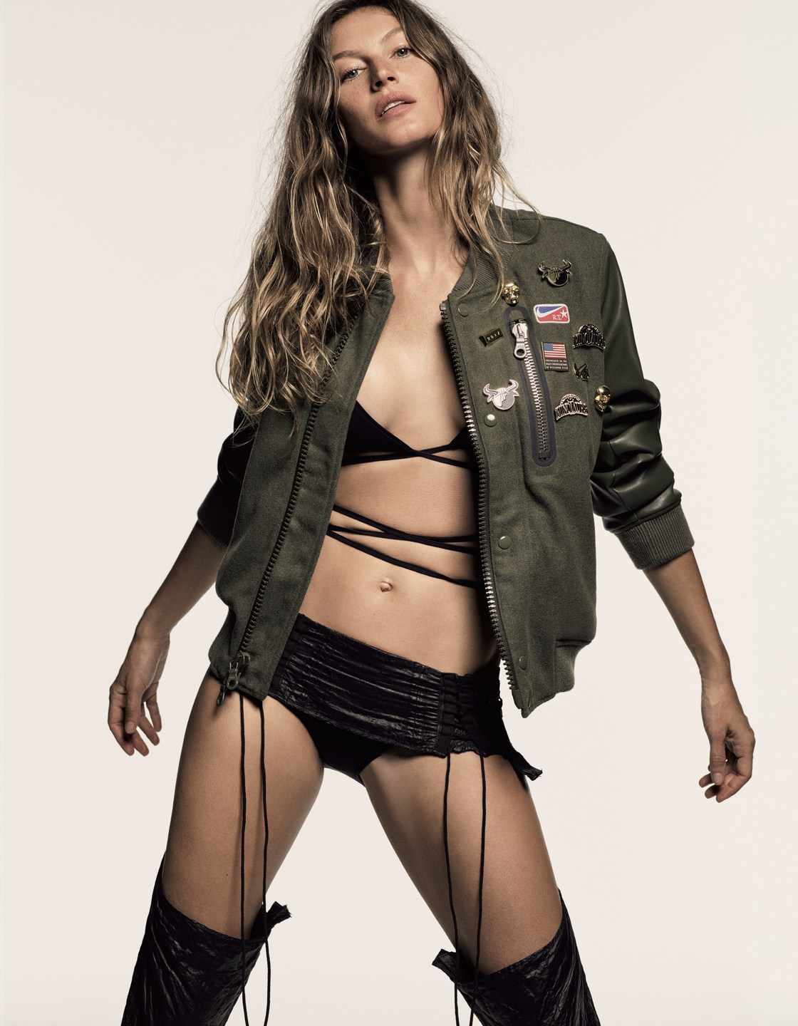 Gisele Bundchen by Luigi and Iango for Vogue Japan