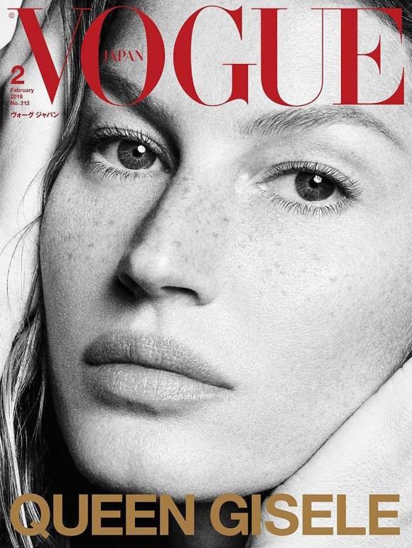 Gisele Bundchen by Luigi and Iango for Vogue Japan