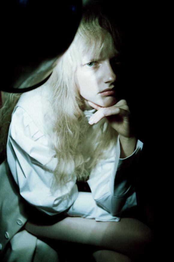 Mira Alldinger by Lucrezia Ganazzoli for Hunger