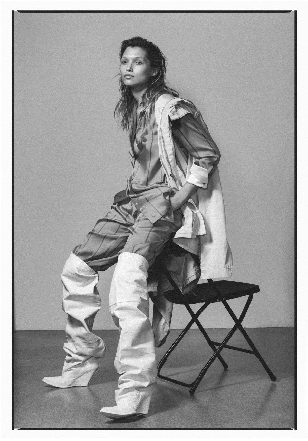 Hana Jirickova by Marco van Rijt for Vogue Ukraine