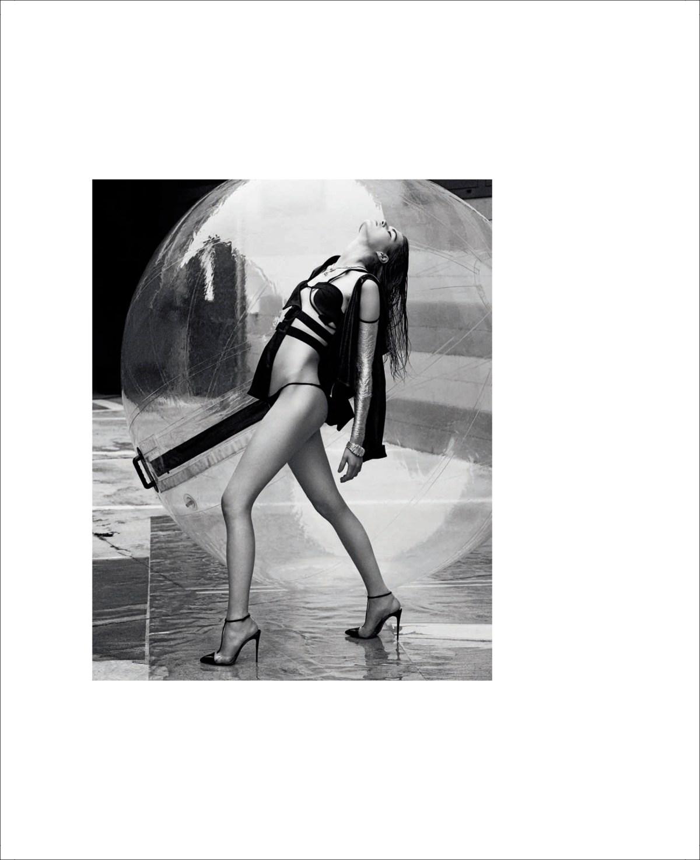 Nina Marker and Sophie Rask by Luigi and Iango for Vogue Italia