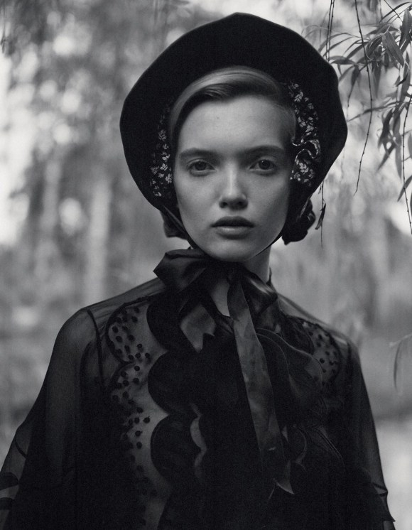 Ruth Bell by Yelena Yemchuk for Vogue China