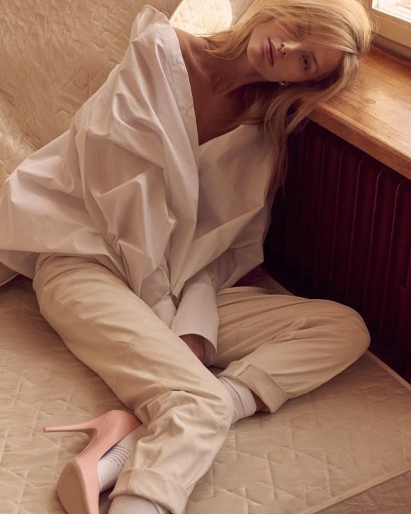 Michaela Kocianova by Andreas Ortner for Harper's Bazaar Czech Republic