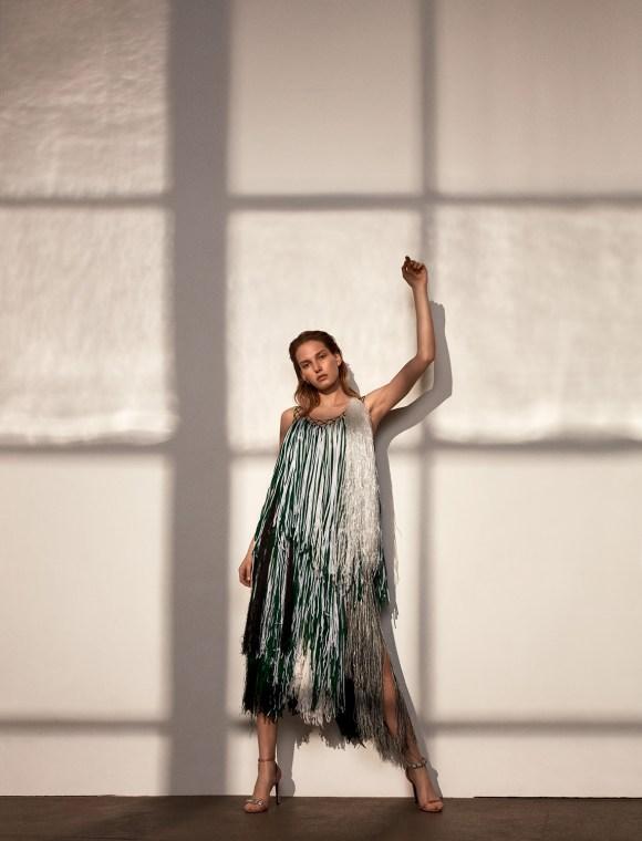 Marique Schimmel by Pelle Lannefors for Marie Claire Romania