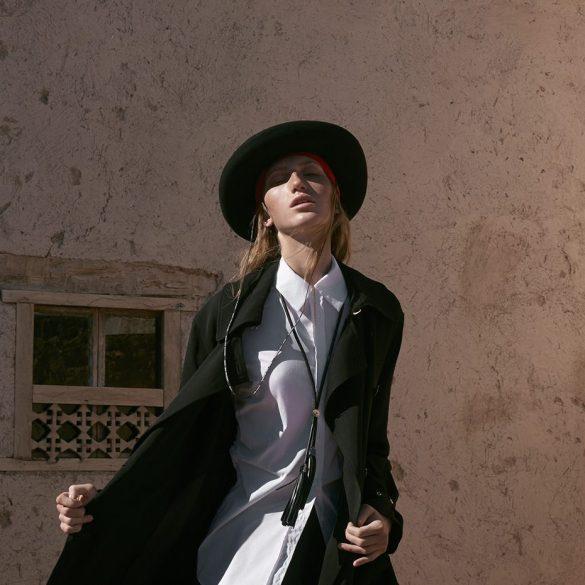 Linda Novotna photographed by Andreas Ortner for Gala Magazine 1
