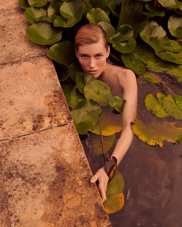 Caroline Lossberg by Andreas Ortner for Vogue Portugal