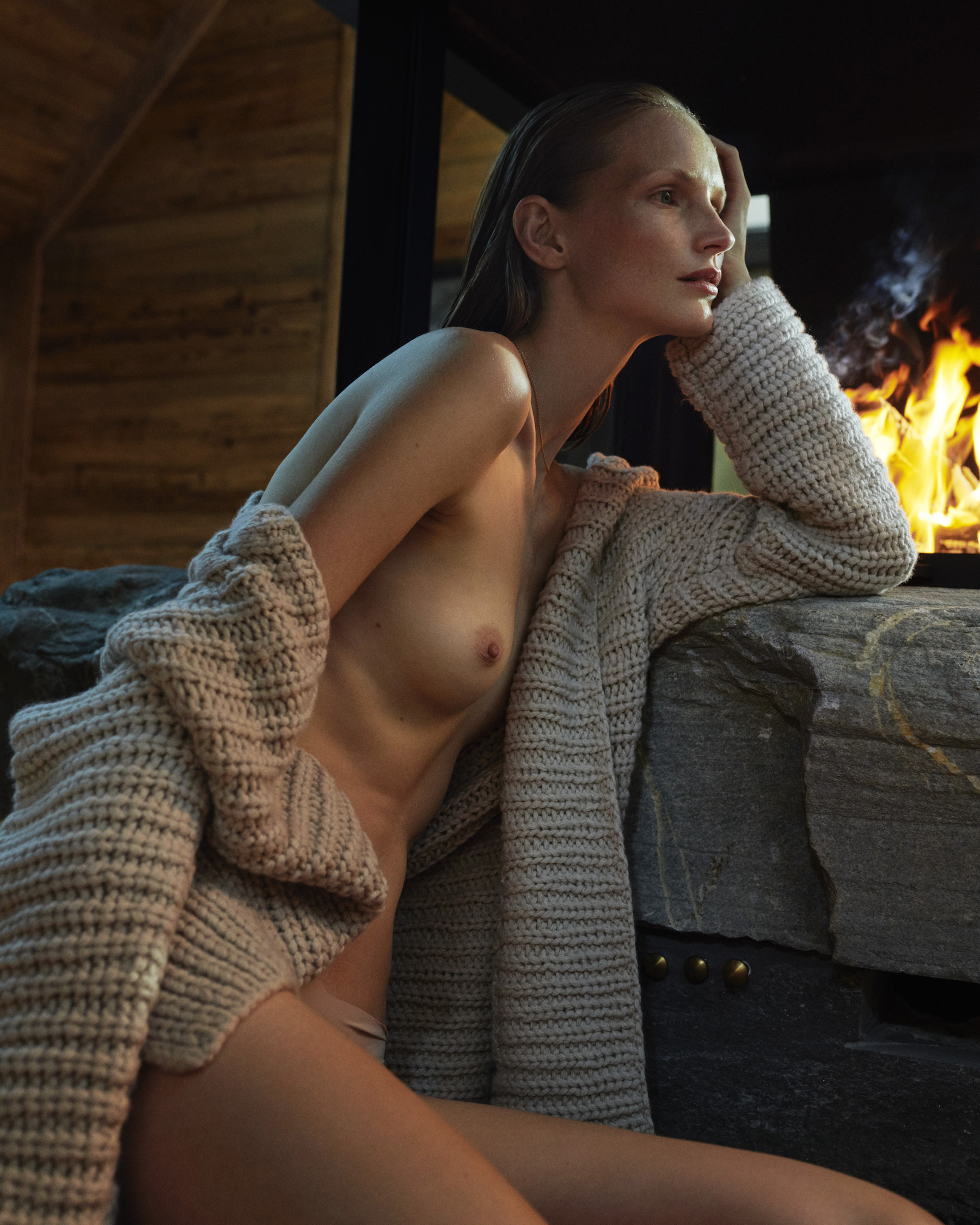 Katrin Thormann by Tobias Lundkvist for Elle Germany