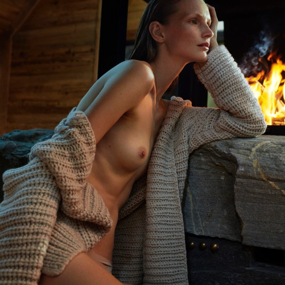 Katrin Thormann by Tobias Lundkvist for Elle Germany