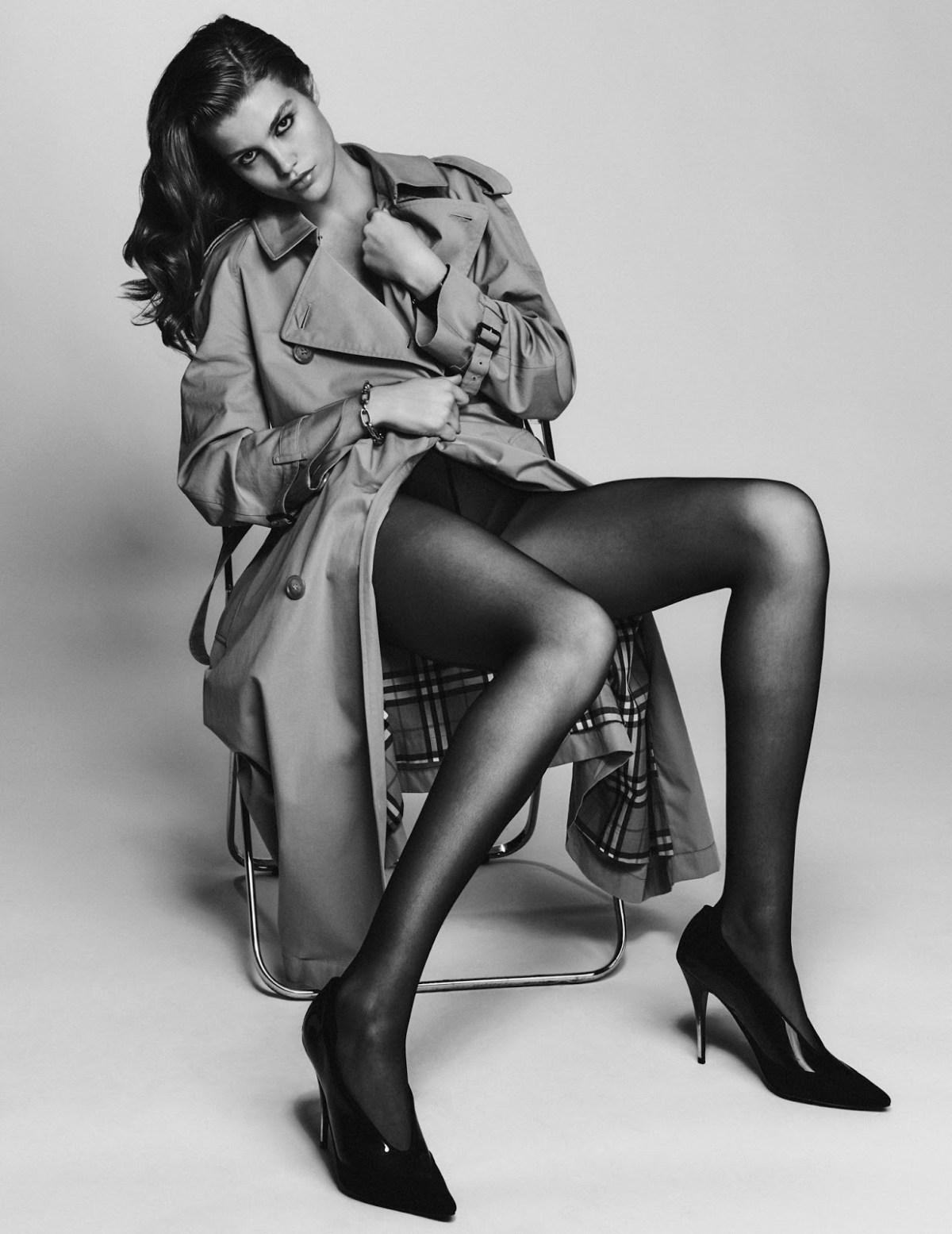 Luna Bijl by Chris Colls for Vogue Mexico