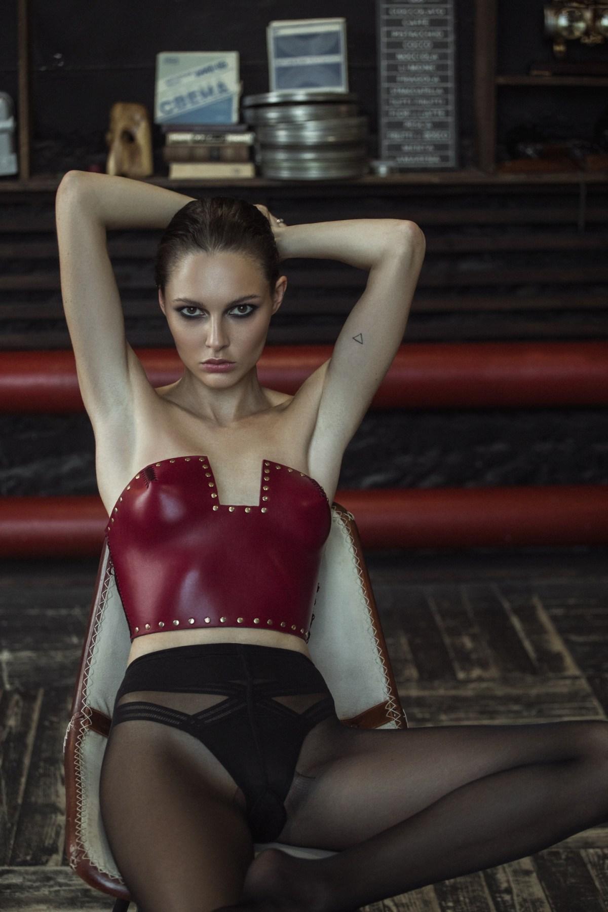 Polina Favlav by Anastasia Laukart