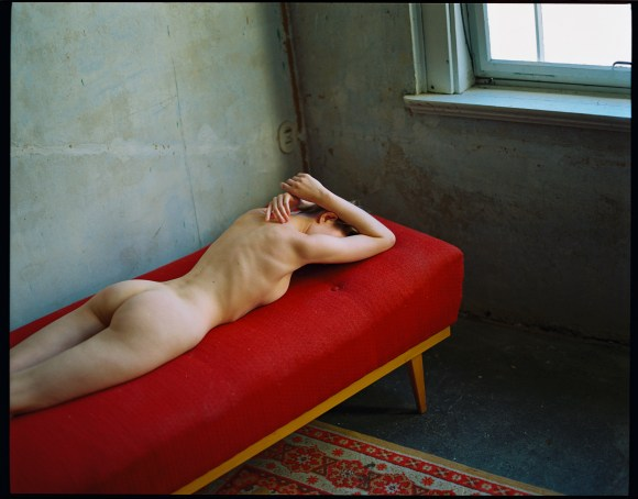 The Red Sofa by Anna Foersterling