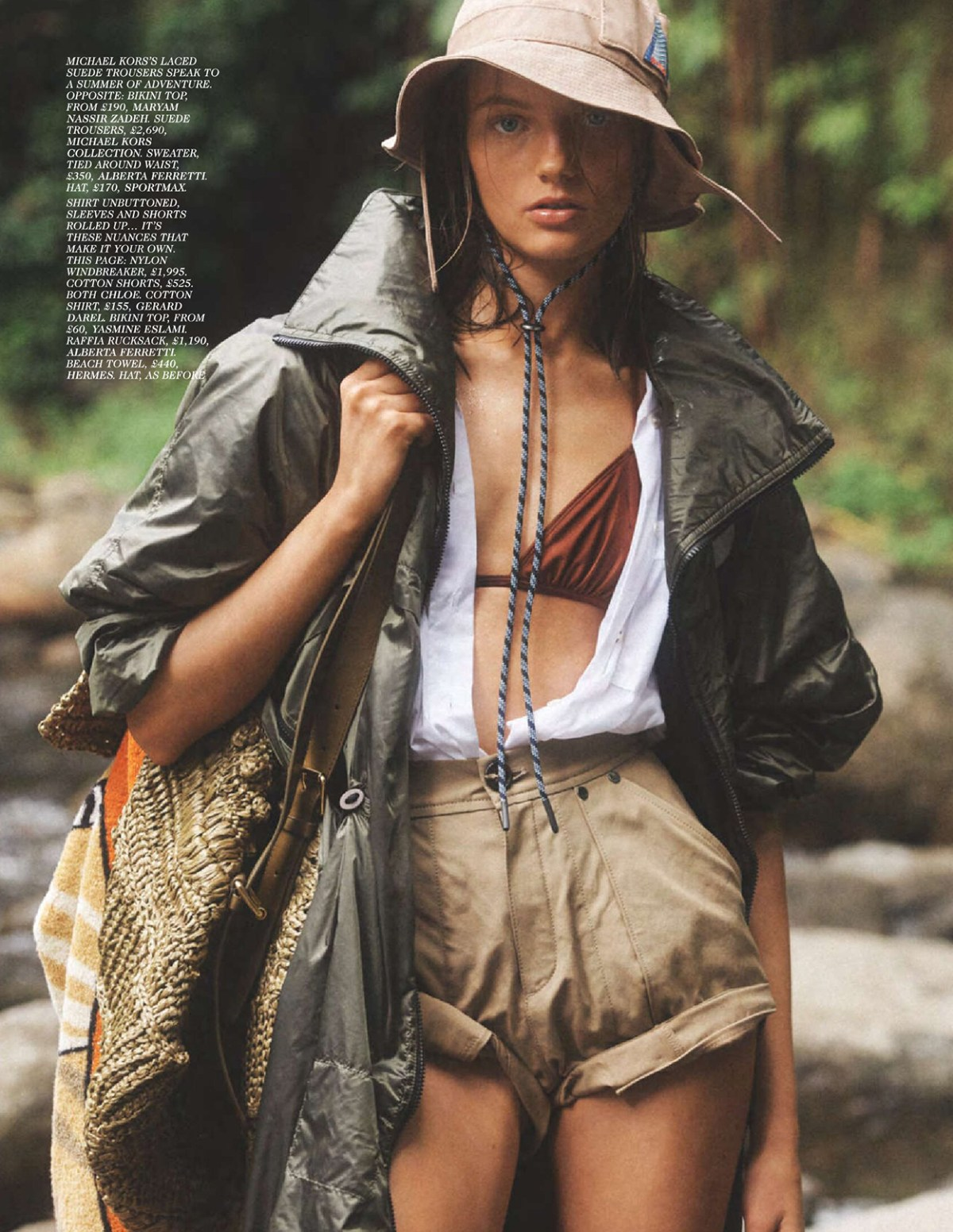 Fran Summers by Lachlan Bailey for Vogue UK