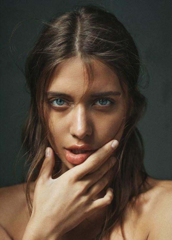 Vika Perusheva by Alessio Albi