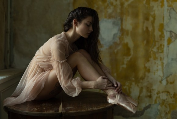 Ksenia Knyazeva by Aleksey Burcev