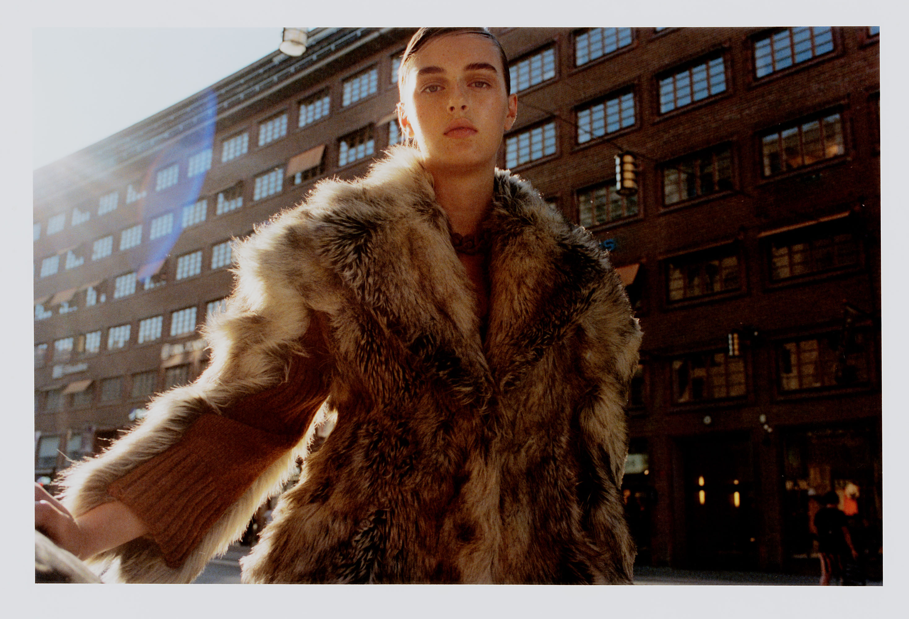 Emma Poilblanc by Luca Campri for ODDA Magazine
