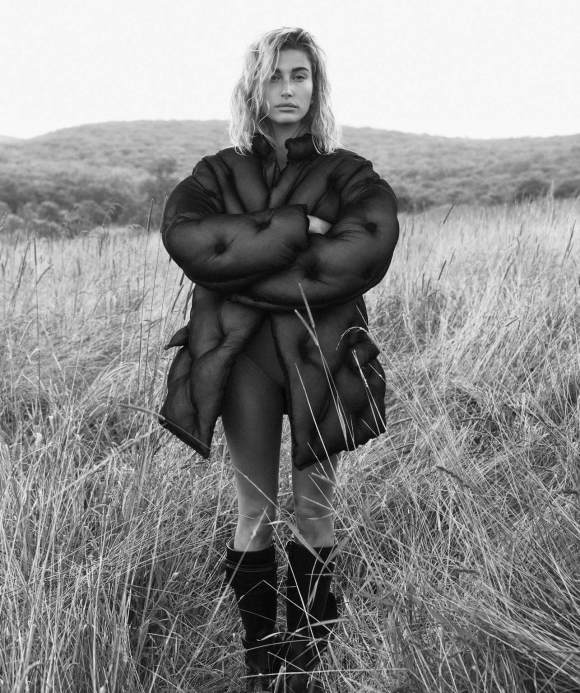Hailey Rhode Bieber by Lachlan Bailey for Vogue Australia