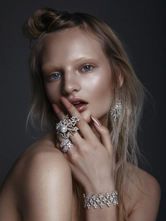 Emilie Frandsen by Max Liebenstein
