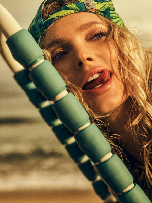 Elsa Hosk by Yulia Gorbachenko for Harper's Bazaar Greece