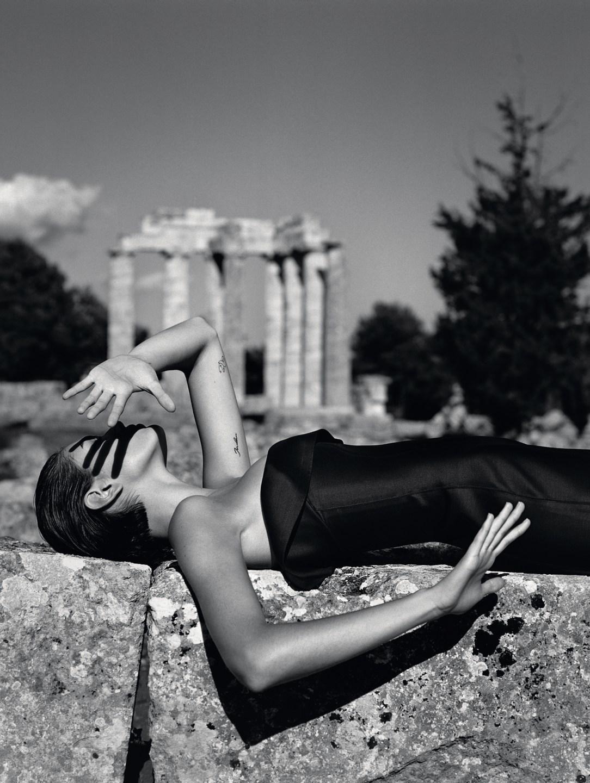 Kaia Gerber by Alasdair McLellan for Vogue UK