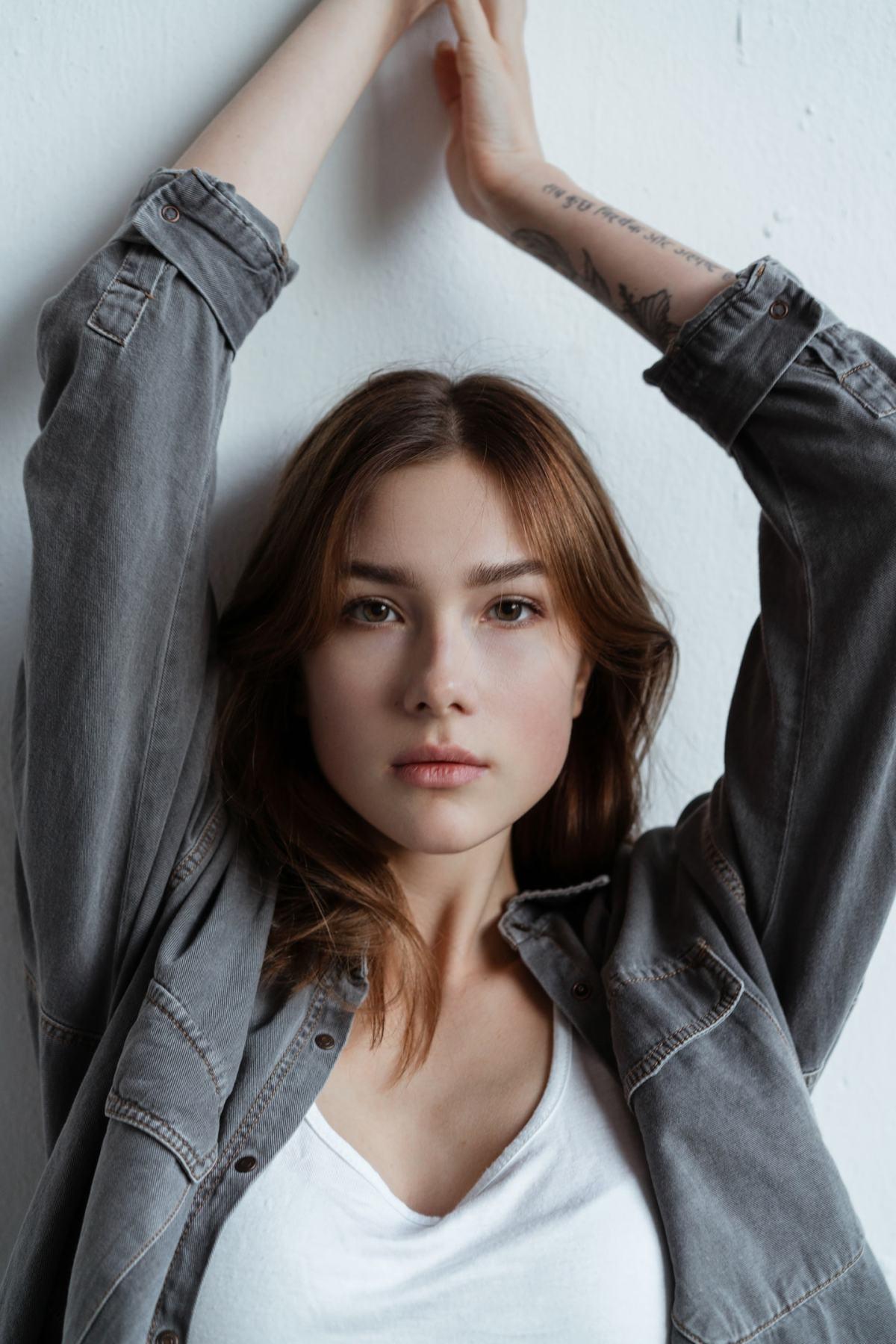 Dasha Novoseltseva by Maria Palagushkina