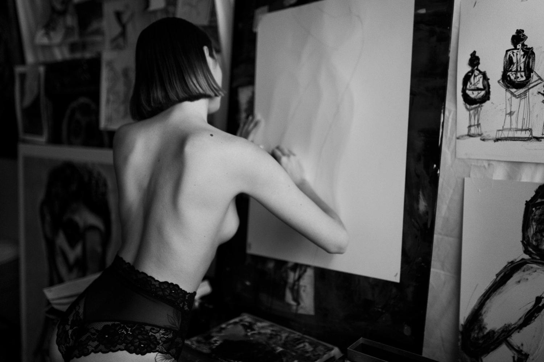 Anaïs Touret by Albin Siggesson