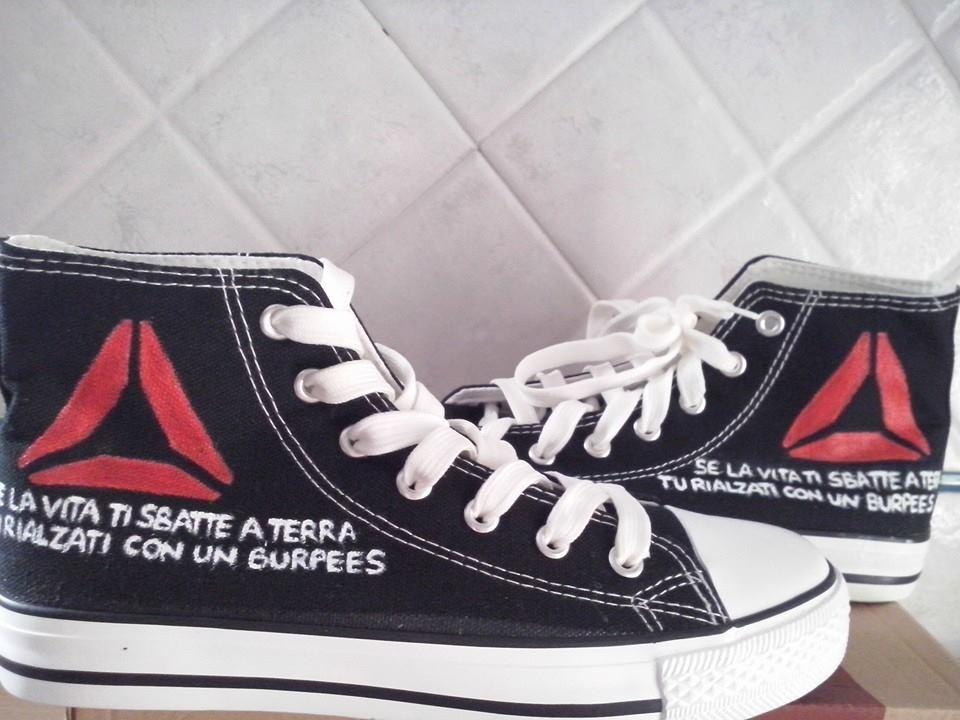 Scarpe personalizzate - burpees