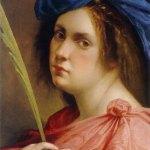 Artemisia Gentileschi-autoritratto come martire
